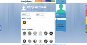 Twoje odznaki - Turniejada.pl